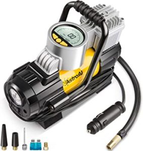 AstroAI Portable Air Compressor PumpTSMAN V20 Inflator with Lithium-Ion Battery1